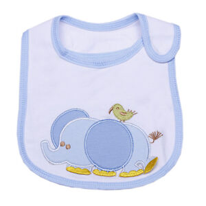 Select Baby Infants Toddler Bib Lunch Bibs Saliva Towel 3 Layer Waterproof DCX