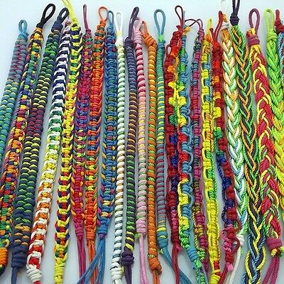 wholesale 50pcs Mix Handmade Friendship Bracelet part gift random color on Rummage