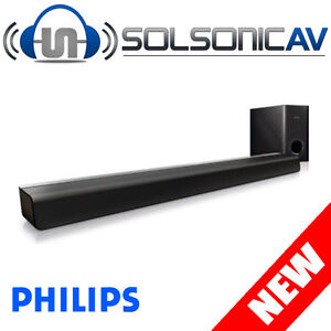 NEW Philips CSS2123 SoundBar Home Theatre Speaker System Sound Bar
