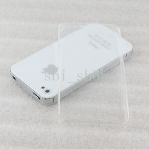 PREMIUM CRYSTAL CLEAR ULTRA THIN SLIM HARD CASE COVER for Apple iPhone 5 5G 5th