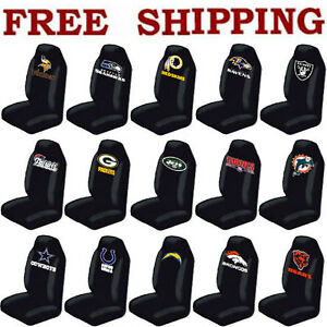 new nfl teams car truck suv van front seat cover ebay. Black Bedroom Furniture Sets. Home Design Ideas