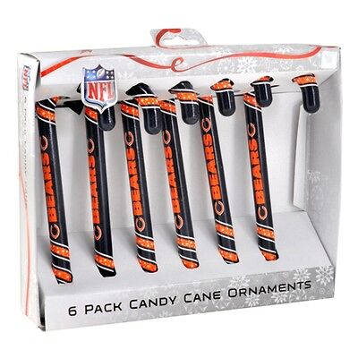 NFL Football 2012 Team Logo Christmas Candy Cane Ornament Set - Pick Your Team!