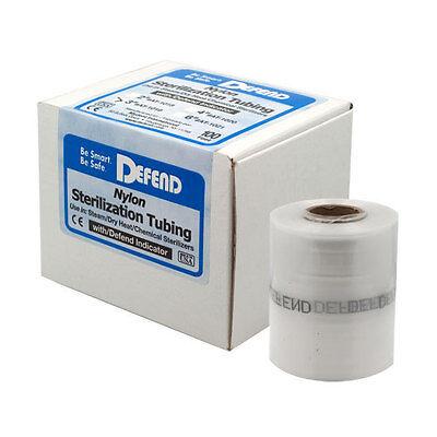 Defend 2 Inch Nylon Sterilization Tubing W Defend Indicator Ink 100 Ft Roll