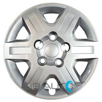 "NEW 16"" Silver Bolt On Hubcap Wheel Cover for 2008-2016 Caravan Journey"