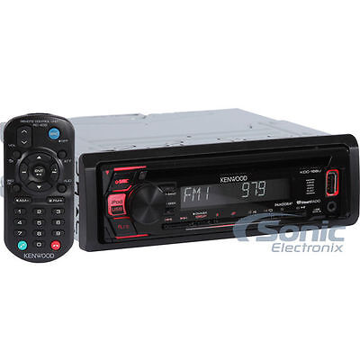 Kenwood KDC-168U Single DIN In-Dash CD/AM/FM Digital Media R