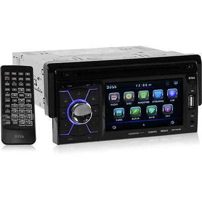 "Boss BV7464B Single Din DVD Bluetooth Car Stereo Receiver w/4.6"" Touchscreen"