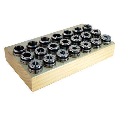 Techniks High Precision Tg75 11 Pc Collet Set 18 - 34 04008-11s Cnc Chuck