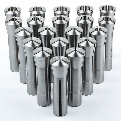 20 Pc Metric R8 Collet Set 1mm To 20mm High Precison For Bridgeport 20 Piece
