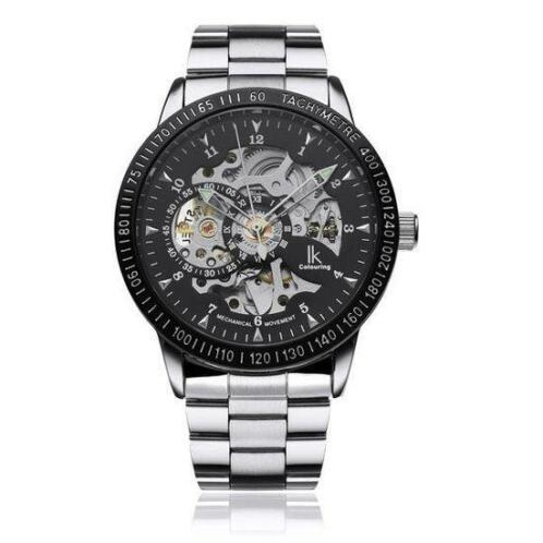 RVS mechanisch horloge