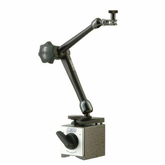 Noga DG10533 Magnetic Base 176 lb. Holding Power Dial & Test Indicator Holder