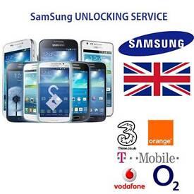 SAMSUNG FAST UNLOCK SERVICE