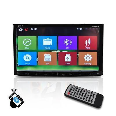 "PYLE PLDNV695B 7"" LCD Double-DIN DVD/CD/MP3 Car Receiver +GPS Nav +Bluetooth"