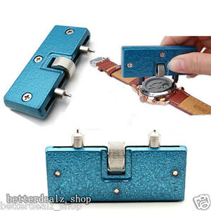Rectangle-Adjustable-Watch-Back-Case-Cover-Opener-Remover-Wrench-Repair-Kit-Tool