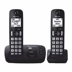 Téléphone sans fil KX-TGD222C Dect 6.0 2x Combiné Répondeur Panasonic