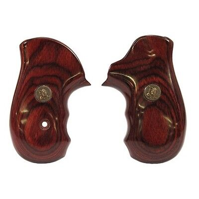 Pachmayr 63070 Ruger SP101 Revolver Grip Laminate Rosewood Smooth ()