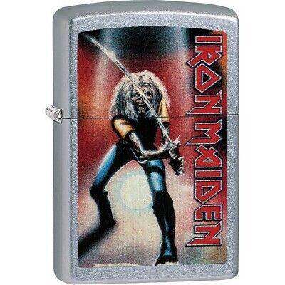 Zippo 29575 Street Chrome 2017 Classic Iron Maiden Windproof Lighter
