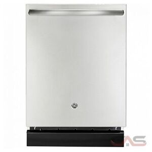 GE BUILT-IN STAINLESS STEEL DISHWASHER WITH HIDDEN CONTROLS