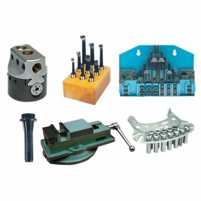 Milling Tooling Kit-vise Boring Head Set Clamping Kit R8 Collets Bridgeport
