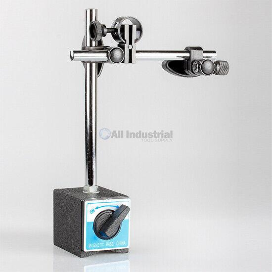 Magnetic Base Heavy Duty Fine Adjustment 176 lbs. Indicator Holder