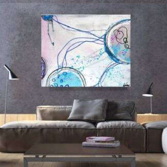 Handpainted Abstract Oil Paintings | Ready to hang | Large Sizes