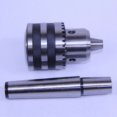"""3//8/"""" to 1JT Straight Shank Drill Chuck Hardened JT1 Jacobs Taper"""