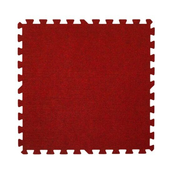 carpet top interlocking mats 100 sq ft red trade show puzzle tiles floor mat