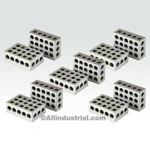 5 MATCHED PAIRS ULTRA PRECISION 1-2-3 BLOCKS 23 HOLES .0001