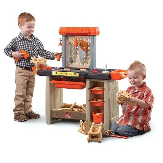 Step2 Handyman Workbench Orange - Kids Workbench - Kids Tools