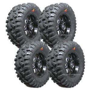 "Set of 4 dirt commander tires 27""(quebec)"