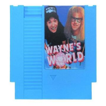 Wayne's World 72 Pin 8 Bit Game Card Cartridge for NES Ni...