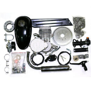 Complete Silver 66cc/80cc Bicycle Engine Kit