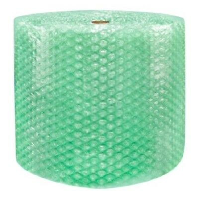 """1/2"""" SH Recycled Large Bubble Cushioning Wrap Padding Roll 125' x 24"""" Wide 125FT"""