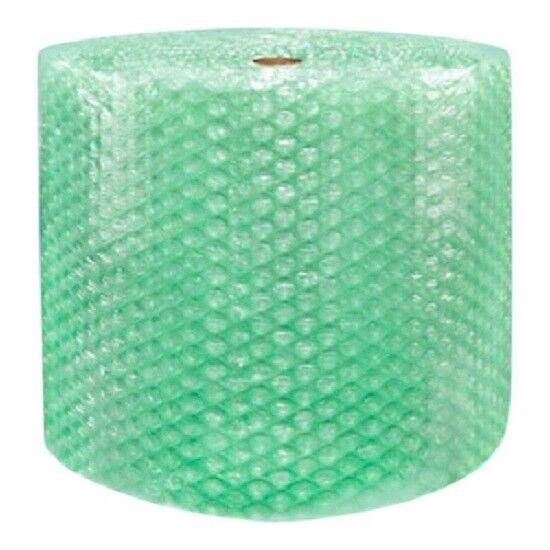 "1/2"" SH Recycled Large Bubble Wrap Cushioning Padding Roll 125"