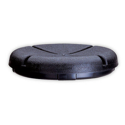 CLC 1140 - 3 1/2 to 5 Gallon Plastic Contoured Bucket Seat Lid Cushion Storage