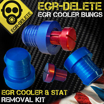 BMW EGR COOLER & THERMOSTAT REMOVAL KIT BUNGS BLANKING PLUGS EGR DELETE