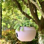 Plastic Hanging Planter Pot Home Yard Hanging Flowers Bas...