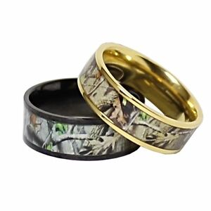 one such example of this of a formal accessory gone rogue are camo wedding rings when you think about it camo rings for a wedding make a lot of sense - Camouflage Wedding Rings For Her