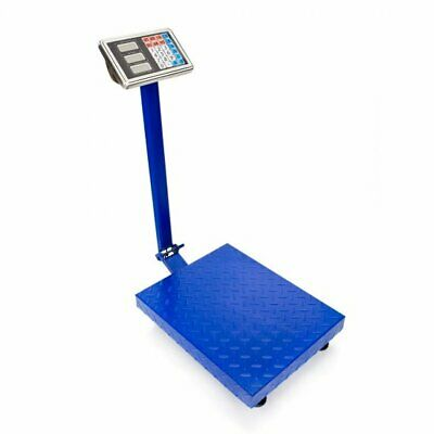 660lbs Heavy Duty Portable Weight Computing Digital Floor Platform Scale Postal