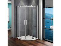 New Frameless Shower Enclosure