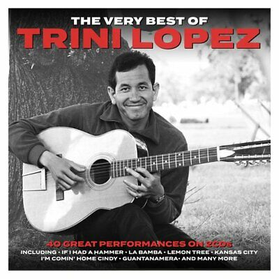 Trini Lopez VERY BEST OF 40 Essential Classic Songs COLLECTION New Sealed 2