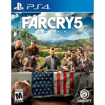 Far Cry 5 (Sony PlayStation 4 PS4) Farcry 5 - Standard Edition -BRAND NEW SEALED