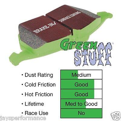 EBC Greenstuff Brake Pads Front Honda Civic 92-00 D15 D16 DP2911