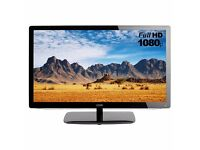 """LOGIK 24"""" Full HD 1080p LED TV with Freeview and DVD combi."""