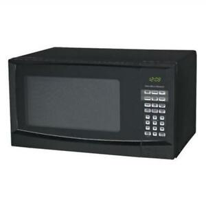 UNUSED HAMILTON BEACH P90D23AP 0.9 CU.FT BLACK MICROWAVE
