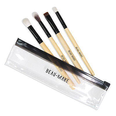 ABBAMART Belleme Make Up Foundation Eyeshadow Lip Eyeliner Blending Brush 4P SET