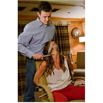 Dexter Colin Hanks as Travis Marshall knife to victim's throat 8 x 10 Inch Photo