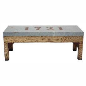 Andrew Martin Dual use Hall Bench / Coffee Table rrp £1095