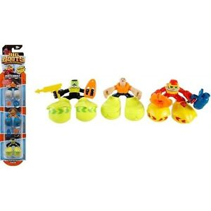 Matchbox Big Boots 3 Pack Figures Water Rescue Team Fynn Jellysquish Jared New