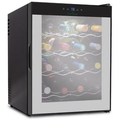 Electric Wine Cooler Refrigerator w Digital Touchscreen Control (160 Bottle Wine Cooler)