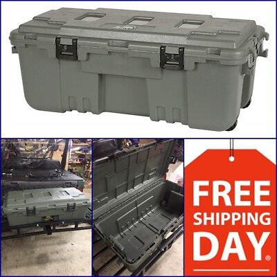 XXL Pickup Truck Trunk Bed Storage Tool Box Garage Trailer Chest Heavy Duty Camo (Heavy Duty Truck Boxes)